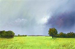 Summer Greens by Barry Hilton -  sized 24x16 inches. Available from Whitewall Galleries